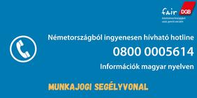 Hotline Coronavirus Arbeitsrecht Ungarisch