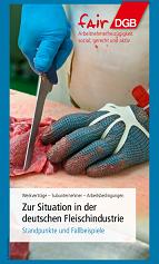 Zur Situation der deutschen Fleischindustrie